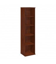 "Bush Series C 18"" W x 16"" D 5-Shelf Bookcase (Hansen Cherry)"