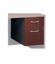 Bush Series C 2-Drawer Box/File 3/4-Pedestal, Assembled (Hansen Cherry)