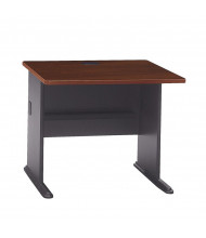 "Bush Series A WC 36"" W Straight Front Office Desk"