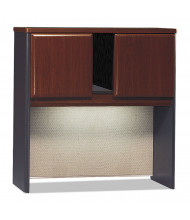 "Bush Series A 36"" W 2-Door Laminate Hutch, Hansen Cherry"