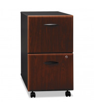 Bush WC94452SU 2-Drawer File/File Mobile Pedestal File, Hansen Cherry
