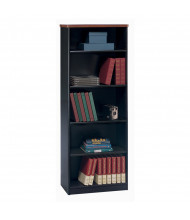 "Bush Series A 26"" W 5-Shelf Bookcase (Shown in Hansen Cherry)"