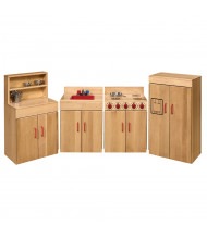 Wood Designs Maple Appliances Dramatic Play Set