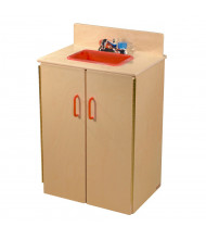 Wood Designs Deluxe Sink Dramatic Play Set (Shown in Red)