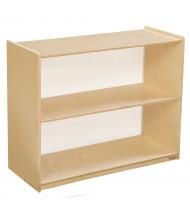 Wood Designs Childrens Classroom Storage 2-Shelf Bookshelf