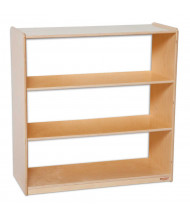 Wood Designs Childrens Classroom Storage 3-Shelf Bookshelf