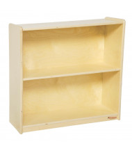 Wood Designs Childrens Classroom Extra Large Bookshelf Unit (Shown with 2 Shelves)