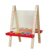 Wood Designs Tot Size Double Sided Acrylic Easel (Shown in Red)