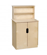 Wood Designs Tip-Me-Not Deluxe Hutch Dramatic Play Set