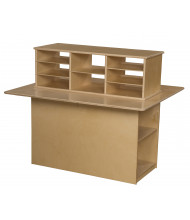 Wood Designs Double Sided Junior Writing Center