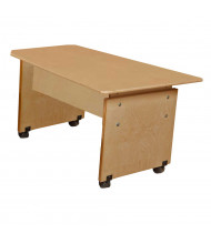 """Wood Designs 48"""" W x 29"""" D Adjustable Computer Table"""