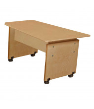 """Wood Designs 60"""" W x 29"""" D Adjustable Computer Table"""