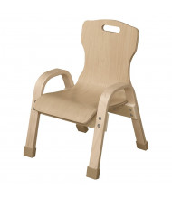"""Wood Designs Bentwood Classroom Chairs (Shown in 8"""" H)"""