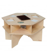 Wood Designs Deluxe Science Activity Table (Shown with Brown Tray)