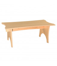 "Wood Designs Scalloped Straight Benches (30"" W Shown)"