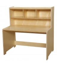"Wood Designs 36"" W x 24"" D Elementary School Writing Desk"