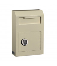 Protex WDS-150E 313 Cubic Inch Wall-Mount Electronic Lock Payment Drop Box