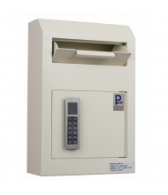 Protex WDS-150E II 313 Cubic Inch Wall-Mount Electronic Lock Payment Drop Box