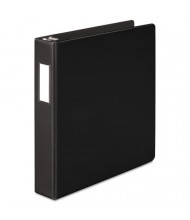"Wilson Jones 1-1/2"" Capacity 8-1/2"" x 11"" Straight Ring Heavy Duty Non-View Binder, Black"