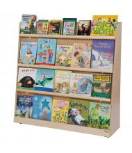 """Wood Designs 48"""" W Double-Sided Book Display"""