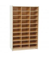 Wood Designs 30 Section Mailbox Center Classroom Storage