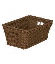 Wood Designs Small Plastic Wicker Basket, 10 Pack