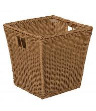 Wood Designs Medium Plastic Wicker Basket