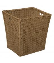 Wood Designs Large Plastic Wicker Basket