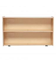 "Wood Designs Contender 29"" H Mobile Shelf Storage"