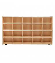 Wood Designs Contender Mobile 20 Tray Storage Unit