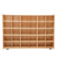Wood Designs Contender Mobile 30 Tray Storage Unit