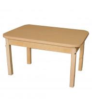 Wood Designs High Pressure Laminate Elementary School Tables