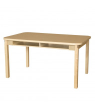 "Wood Designs 48"" W x 36"" D High Pressure Laminate Student Desks"