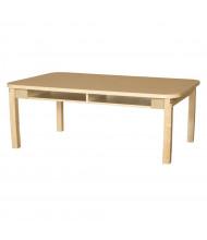 "Wood Designs 60"" W x 36"" D High Pressure Laminate Student Desks"