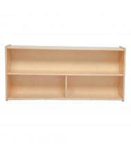 """Wood Designs Classroom Mobile 3-Shelf Storage, Birch, 48"""" W x 15"""" D"""