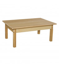 Wood Designs Hardwood Elementary School Tables