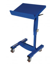 "Vestil WPT-1624 200 lb Load 16"" x 24"" Platform Mobile Positioning Work Table"
