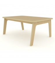 "Whitney Brothers 47"" W x 30"" D Rectangle Tables, Maple"