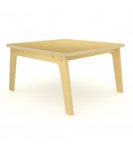 "Whitney Brothers 35"" D Square Tables, Maple"