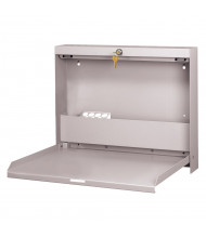 Datum WallWrite Locking Fold Up Desk (Shown in Light Grey)