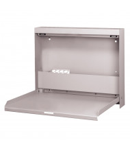 Datum WallWrite Fold Up Desk (Shown in Light Grey)