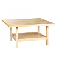 Diversified Woodcrafts Maple Top Wood Workbench