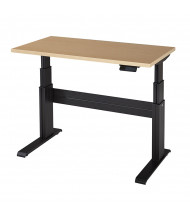 "RightAngle Elegante XT Electric 24"" - 51"" H Straight Front Height Adjustable Desk (Shown in Maple with Black Frame)"