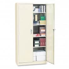 """Alera CM7824PY 36"""" W x 24"""" D x 78"""" H Storage Cabinet in Putty, Assembled"""