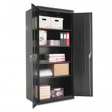 """Alera CM7824BK 36"""" W x 24"""" D x 78"""" H Storage Cabinet in Black, Assembled"""