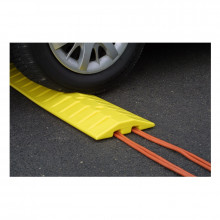 Eagle 6 Ft. Speed Bump Crossing Cable Protection Unit 1792 (example of use)