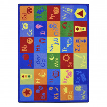 Joy Carpets Simply Phonics Rectangle Classroom Rug