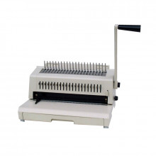 Tamerica 213PB Manual Punch Plastic Comb Binding Machine w/ 3-Hole Punch