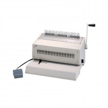 "Tamerica 240EPB 14"" Electric Punch and Comb Binding Machine"