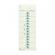 Lathem Weekly Time Cards, Pack of 1000